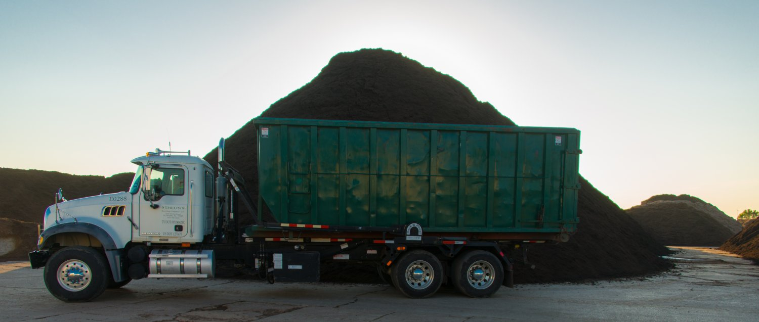 Medium Load delivery of mulch